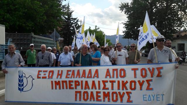 Πορεία 6 χιλιομέτρων για την ειρήνη σήμερα στα Τρίκαλα