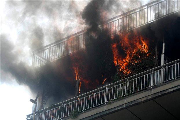 Πυρκαϊά σε σπίτι στην Αύρα Καλαμπάκας το βράδυ της Κυριακής