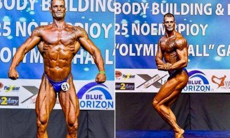 Τρικαλινός Λοχαγός κατεβαίνει στο Παγκόσμιο Πρωτάθλημα Bodybuilding στην Ισπανία