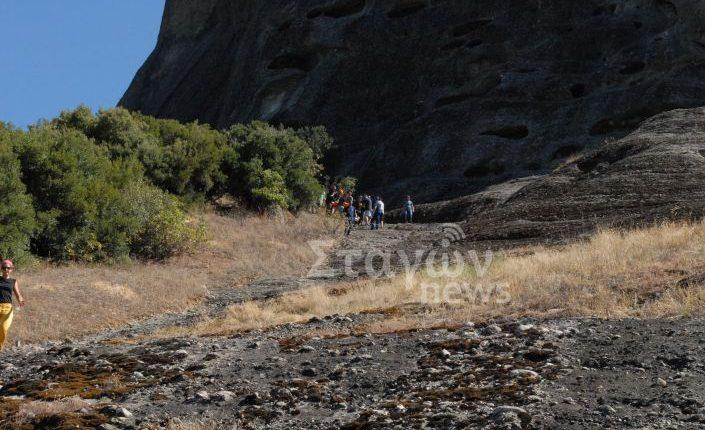 Αναρριχητής τραυματίστηκε μετά από πτώση από βράχο των Μετεώρων