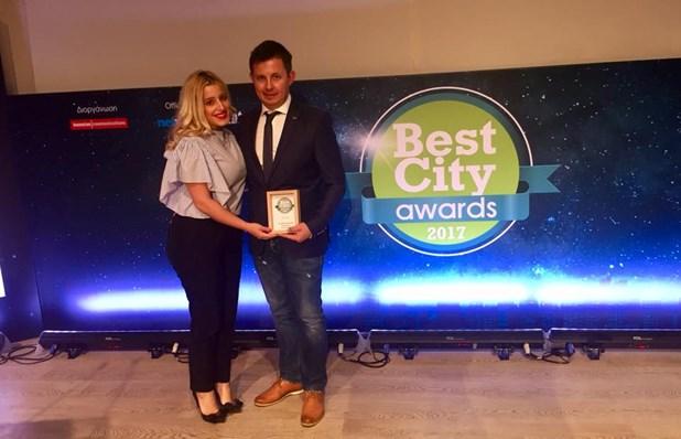 Ασημένιο Βραβείο για το Δήμο Φαρκαδόνας Τρικάλων στα Best City Awards 2017