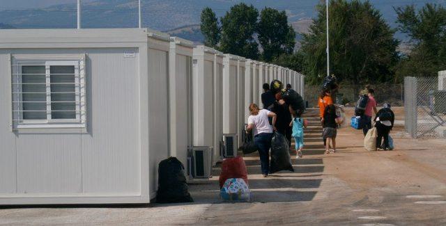 Λουκέτο μπαίνει στον προσφυγικό καταυλισμό των Τρικάλων