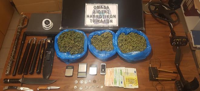 Στη φάκα της Αστυνομίας 59χρονος Τρικαλινός με ναρκωτικά και αρχαία νομίσματα