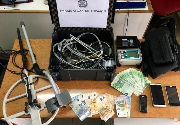 Στη φάκα της αστυνομίας 4 άτομα στα Τρίκαλα με πλαστά χαρτονομίσματα και ναρκωτικά