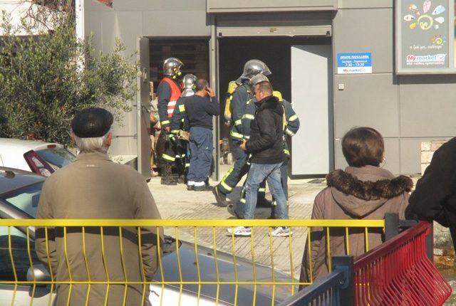 Συναγερμός στην Πυροσβεστική για φωτιά σε Super Market στα Τρίκαλα - Εκκενώθηκε ο χώρος